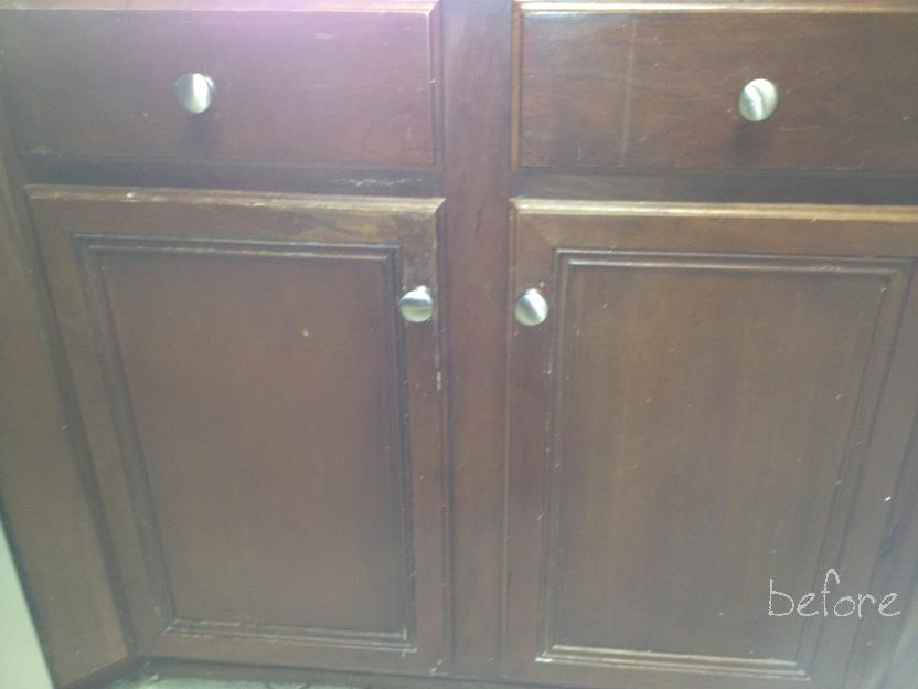 The best homemade chalk paint recipe i ve ever written for Bad smell in kitchen cabinets