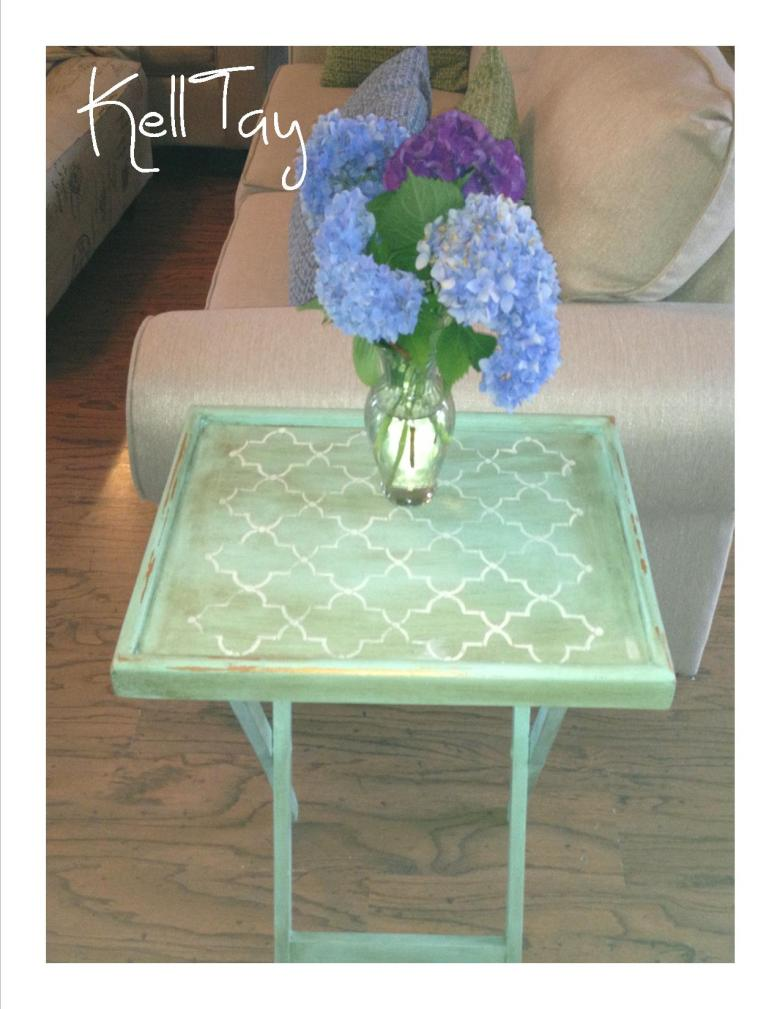 minty tray table