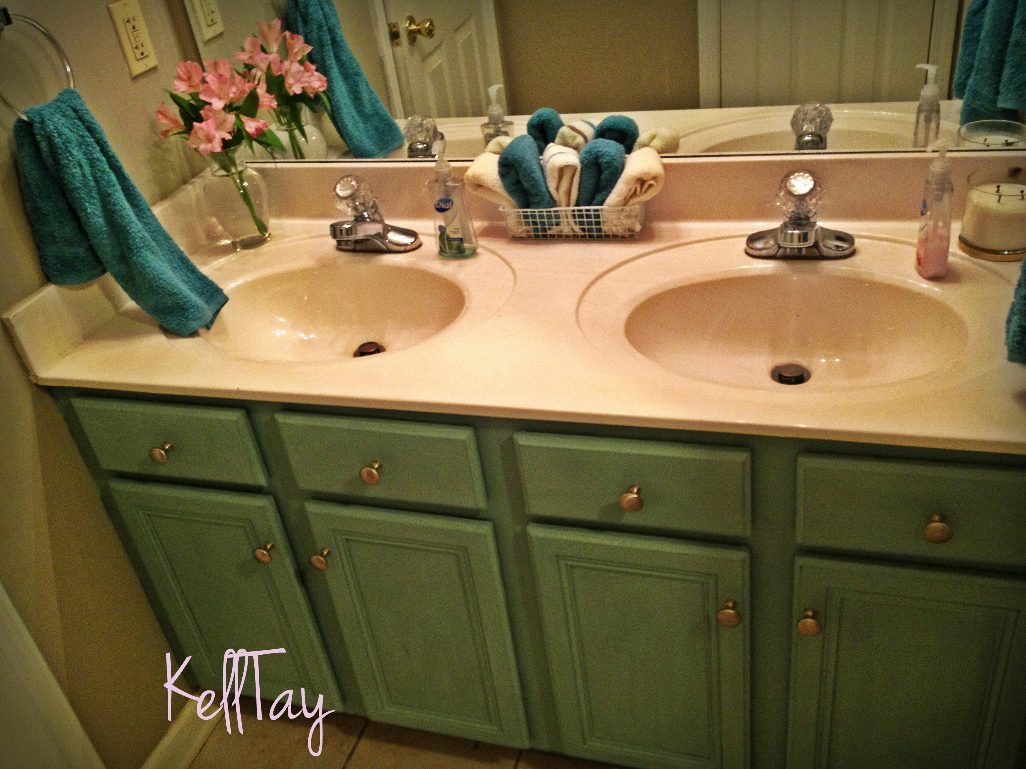 Bathroom Makeovers With Chalk Paint the best homemade chalk paint recipe i've ever written – kelltay
