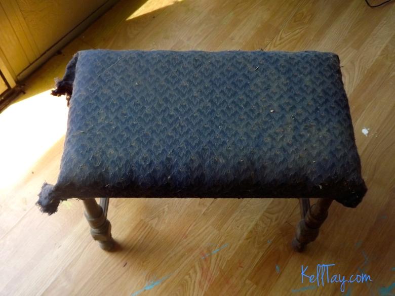 vanity bench before
