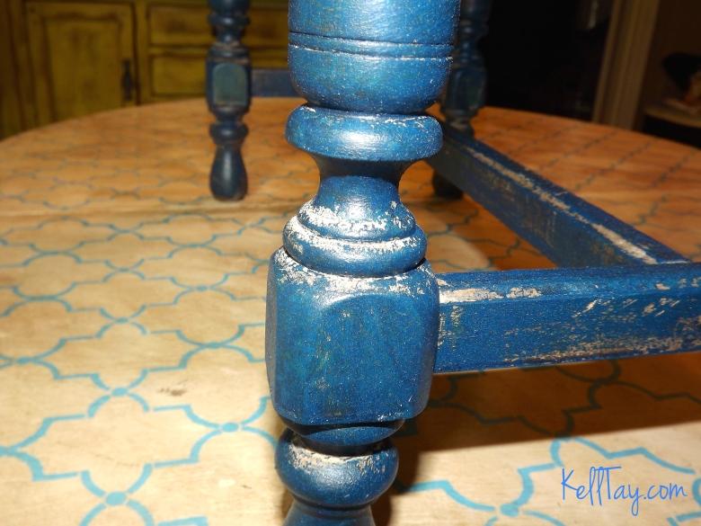 vanity bench post paint