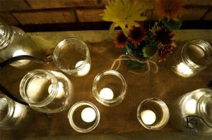 candles on altar 1