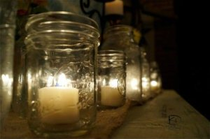 candles on altar 3