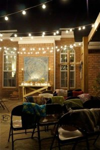 patio with blankets 2