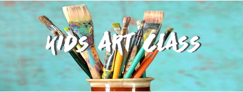 Art Class Facebook Event Page Header